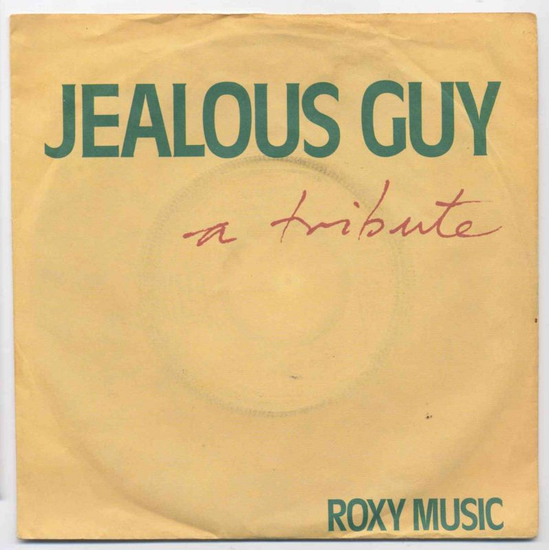 Vinyl-Single: <br><br>Roxy Music: <br>Jealous Guy - A Tribute / The Same Old Scence </b><br>EG 2002 039, (P) 1980  0