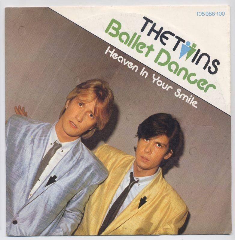 Vinyl-Single: <b><br>The Twins: <br>Ballet Dancer / Heaven In Your Smile </b> <br>Hansa 105 986-100, (P) 1983