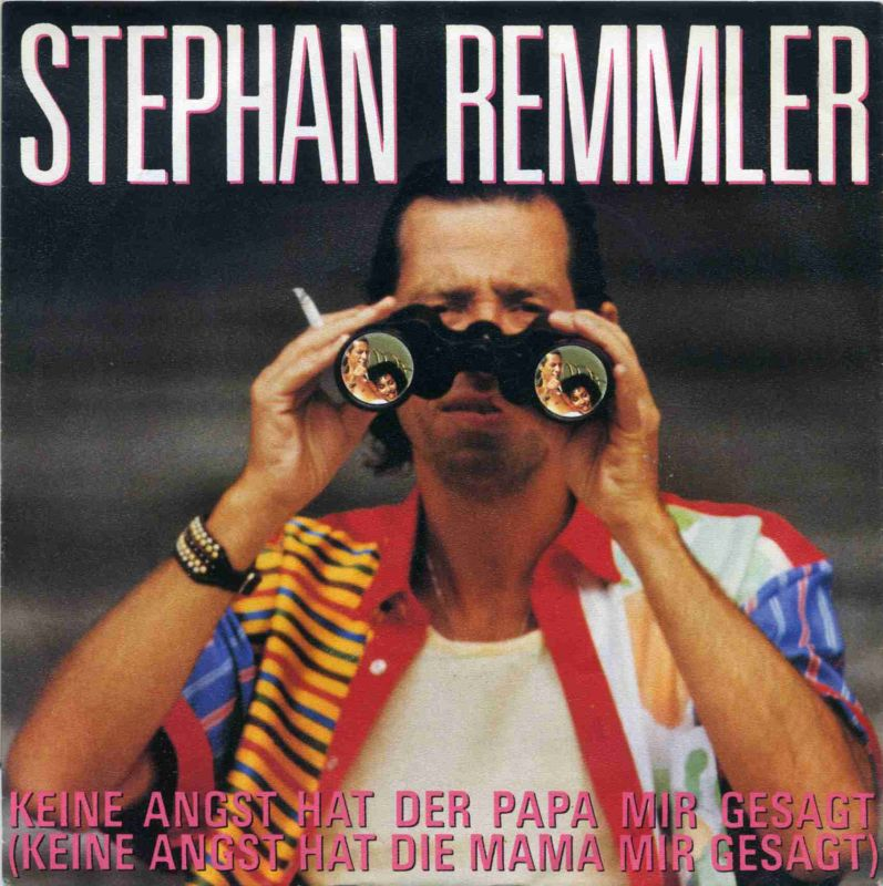 Vinyl-Single: <b><br>Stephan Remmler: <br>Keine Angst hat der Papa mir gesagt (Keine Angst hat die Mama mir gesagt) / Immer wenn ich an dich denke (wird das Herz mir ach so schwer) </b><br>Mercury 872 018-7, (P) 1988 <br>EAN 042287201879