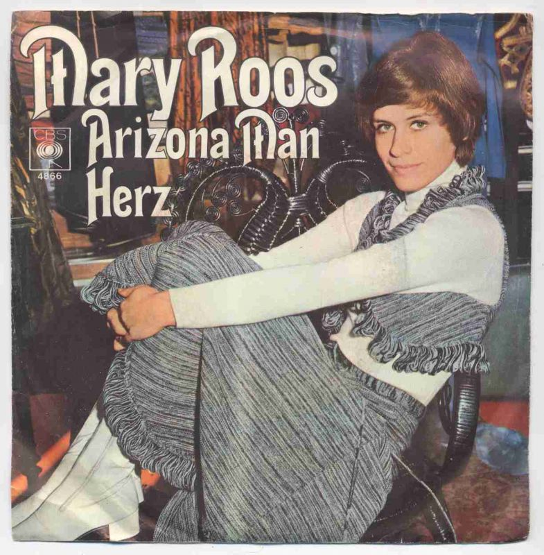 Vinyl-Single: <b><br>Mary Roos: <br>Arizona Man / Herz </b><br>CBS 4866, (P) 1970
