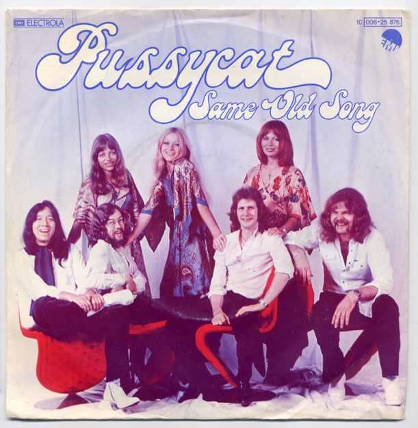 Vinyl-Single: <b><br>Pussycat: <br>Same Old Song / Stupid Cupid </b><br>EMI Electrola 1 C 006-25 876, (P) 1978