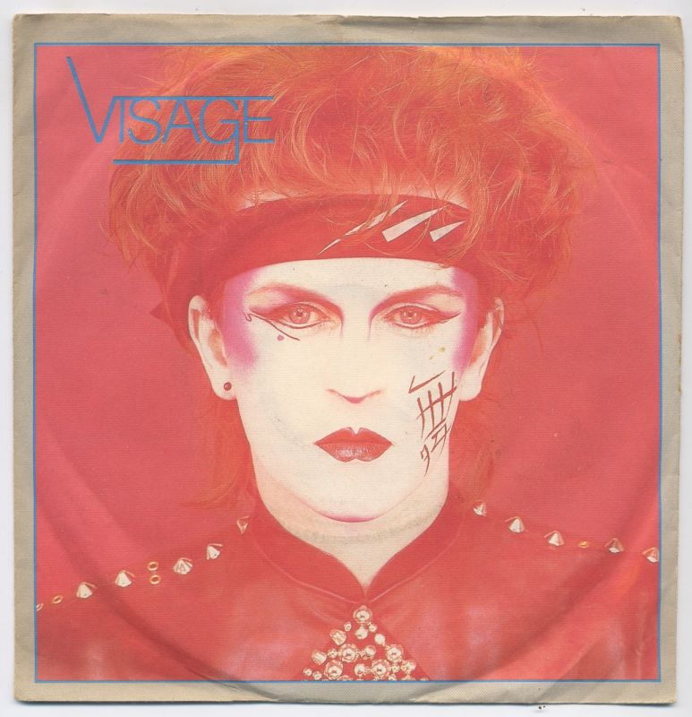 Vinyl-Single: <b><br>Visage: <br>Visage / Second Steps </b><br>Polydor 2095 387, (P) 1980/81