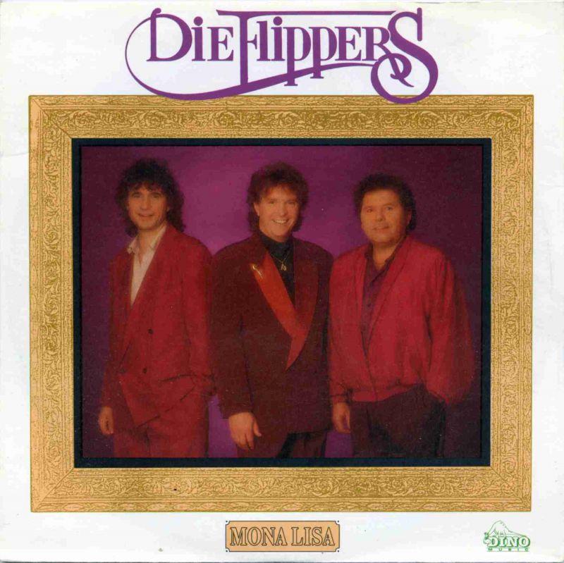 Vinyl-Single:  <b><br>Die Flippers:  <br>Mona Lisa / Was wird morgen sein  </b><br>Dino S 9010630, (P) 1991