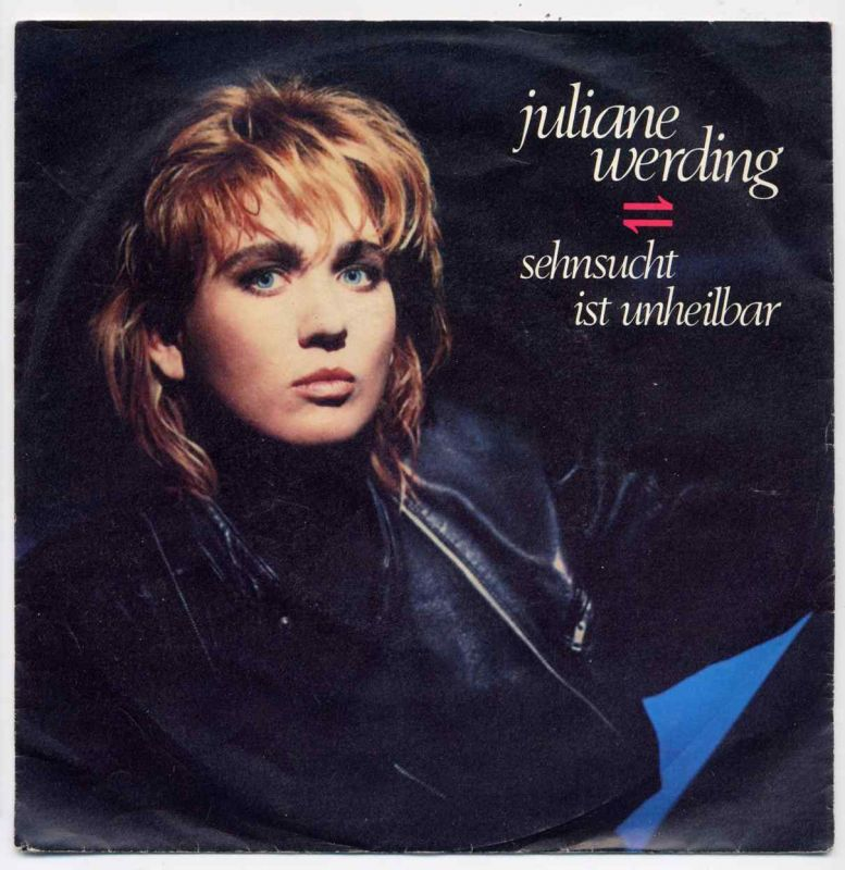 Vinyl-Single: <b><br>Juliane Werding: <br>Sehnsucht ist unheilbar / Takt der Zeit </b><br>WEA 248 731-7, (P) 1986