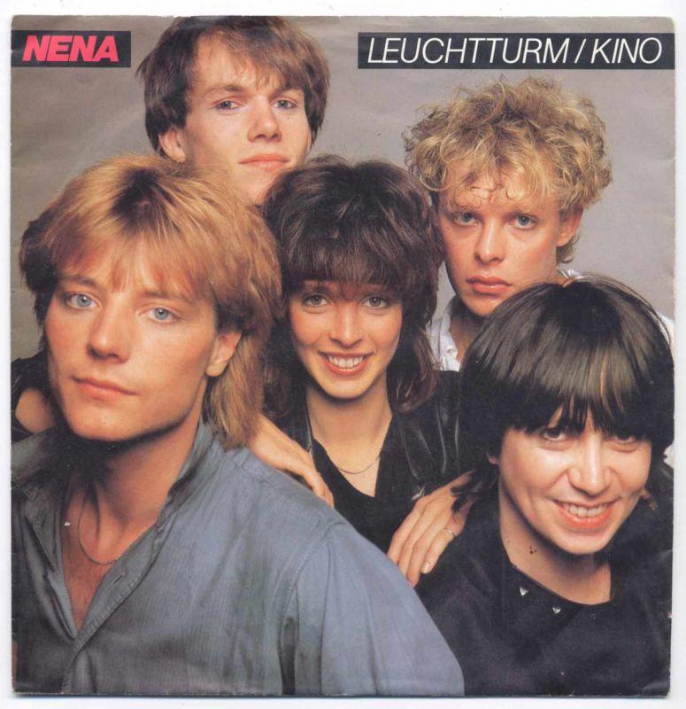 Vinyl-Single: <b><br>Nena: <br>Leuchtturm / Kino </b><br>CBS A 3186, (P) 1983