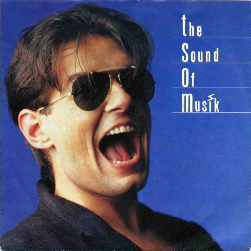 Vinyl-Single: <b><br>Falco <br>The Sound Of Music (The Single Edit) / The Sound Of Music (The Rock \'n\' Soul Edit)</b> <br>TELDEC 6.14650, (P) 1986