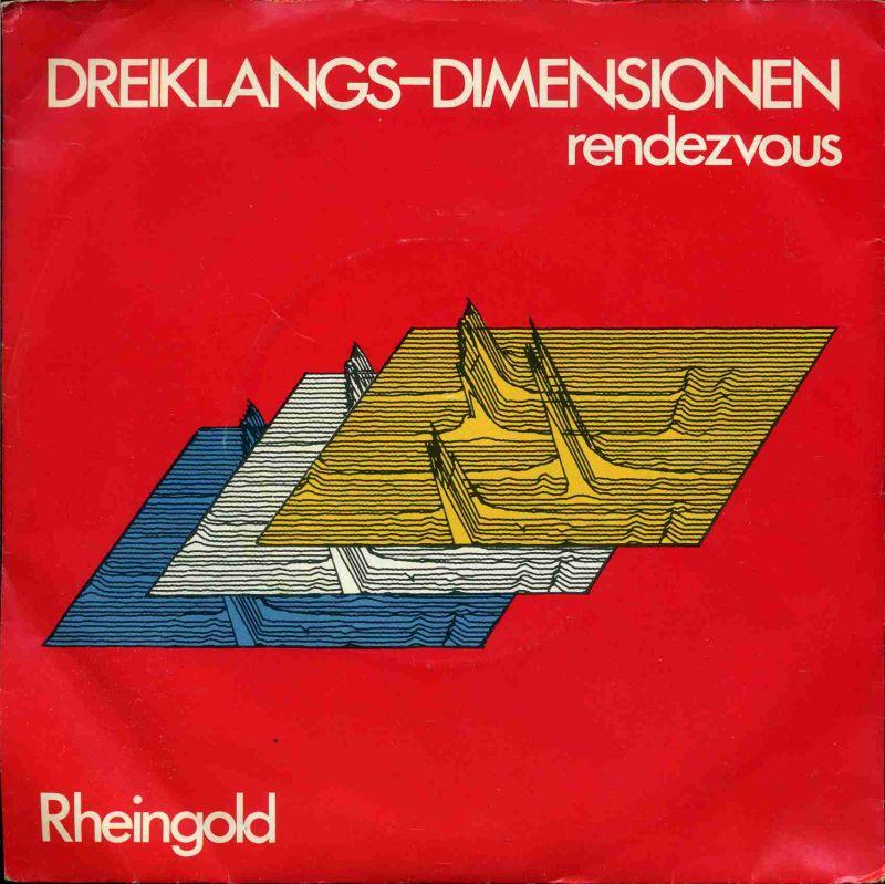 Vinyl-Single: <b><br>Rheingold: <br>Dreiklangs-Dimensionen / Rendezvous </b><br>Welt-Record 1 C 006-46 410, (P) 1980  <hr><font face=\