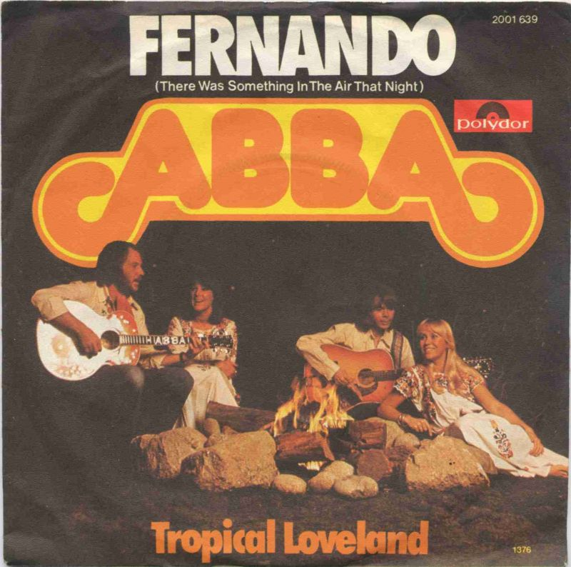 Vinyl-Single: <b><br>ABBA: <br>Fernando / Tropical Loveland </b><br>Polydor 2001 639, (P) 1976  0