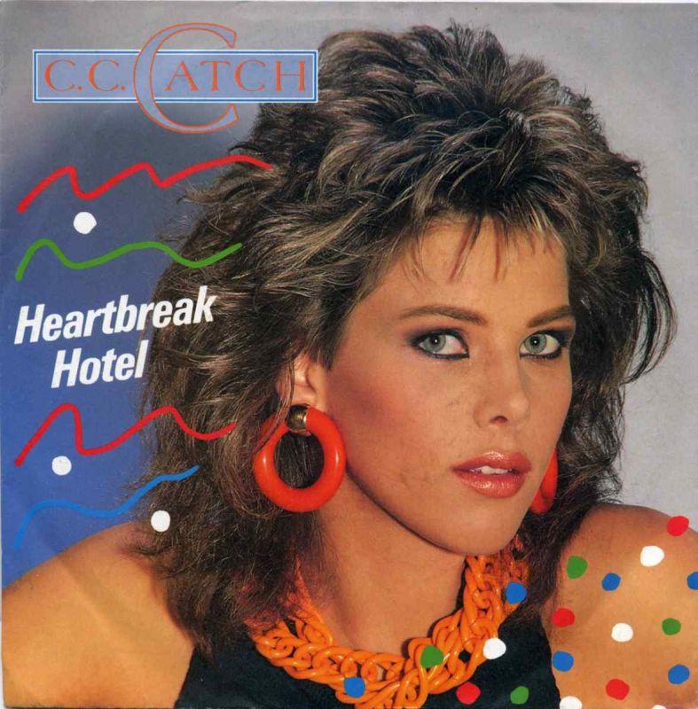 Vinyl-Single: <b><br>C. C. Catch: <br>Heartbreak Hotel / You Shot A Hole In My Soul </b><br>Hansa 108 405, (P) 1986  0