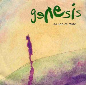 Vinyl-Single: <b><br>Genesis: <br>No Son Of Mine / Living Forever </b><br>Virgin 114 719, (P) 1991 <br>EAN 5012980014071