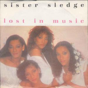 Vinyl-Single: <br><b>Sister Sledge: <br>Lost In Music / Smile </b><br>Atlantic 799 718-7, (P) 1979/83