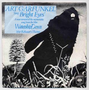 Vinyl-Single: <b><br>Art Garfunkel: <br>Bright Eyes / Kehaar\'s Theme </b> <br>CBS S 6947, (P) 1978