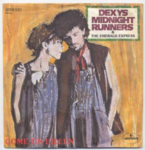 Vinyl-Single: <br><b>Dexys Midnight Runners: <br>Come On Eileen / Dubious </b><br>Mercury 6059 551, (P) 1982
