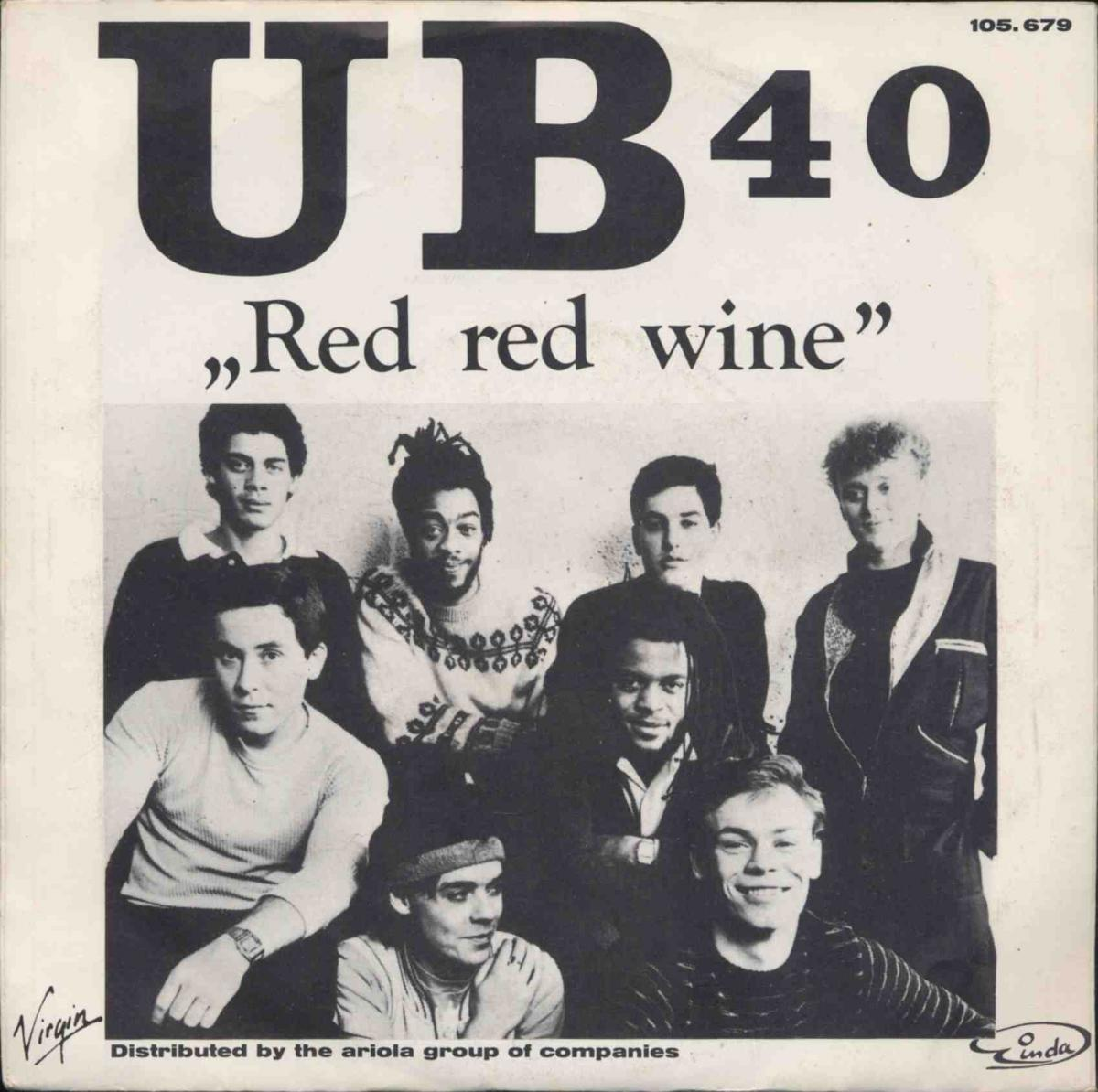 Vinyl-Single: <b><br>UB 40: <br>Red Red Wine / Sufferin\' </b><br>Virgin 105.679, (P) 1983