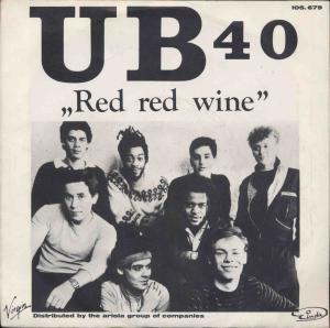 Vinyl-Single: <b><br>UB 40: <br>Red Red Wine / Sufferin\' </b><br>Virgin 105.679, (P) 1983