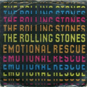 Vinyl-Single: <br><b>The Rolling Stones: <br>Emotional Rescue / Down In The Hole </b><br>Rolling Stones Records 1 C 006-63 974, (P) 1980