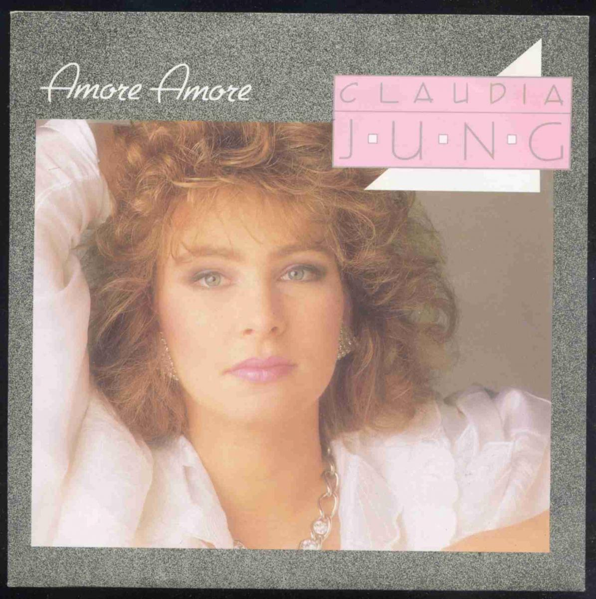 Vinyl-Single: <b><br>Claudia Jung: <br>Amore Amore / Amore Amore (Instrumental) </b><br>Intercord INT 110.240, (P) 1987  0