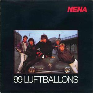 Vinyl-Single: <b><br>Nena: <br>99 Luftballons / Ich bleib\' im Bett </b><br>CBS A 3060, (P) 1983