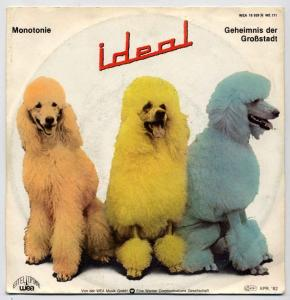 Vinyl-Single: <b><br>Ideal: <br>Monotonie / Geheimnis der Grosstadt </b><br>WEA 18 929, (P) 1982