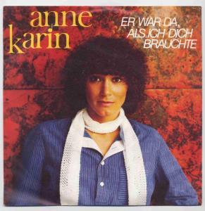 Vinyl-Single: <b><br>Anne Karin: <br>Er war da, als ich dich brauchte / Die Erde bewegt sich </b><br>Aladin ALA 9040, (P) 1980