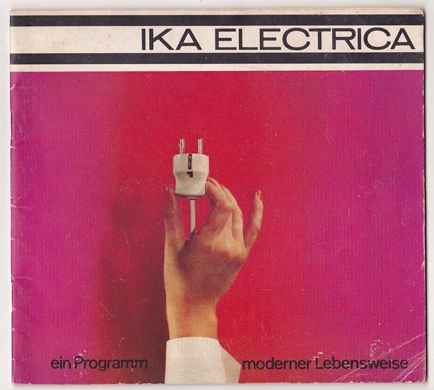Heft  von IKA Electrica, Messe 1966