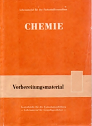 Chemie - Vorbereitungsmaterial für die Fachschule