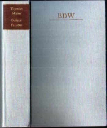 Doktor Faustus - Thomas Mann, BDW