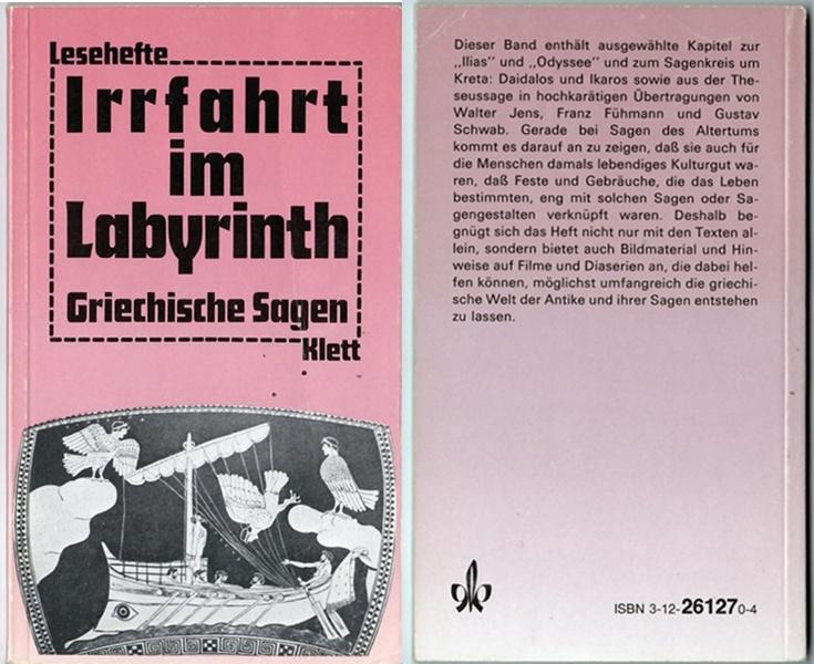 Irrfahrt im Labyrinth - Griechische Sagen, Klett-Leseheft