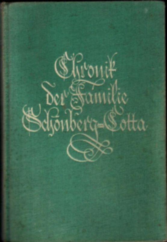 Chronik der Familie Schönberg-Cotta - Lina Haarbeck, 1927