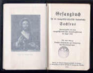 Gesangbuch der ev-luth. Landeskirche Sachsen, 1935