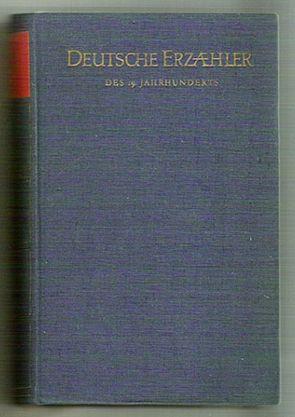 Deutsche Erzähler des 19. Jahrhunderts
