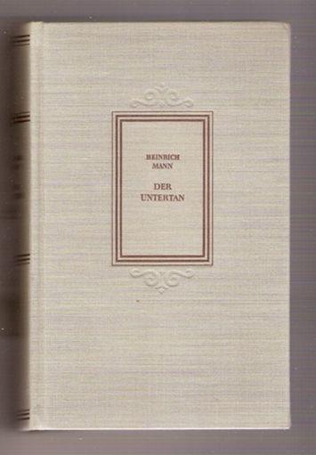 Der Untertan - Heinrich Mann, 1958
