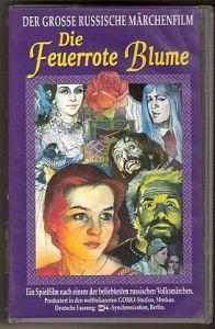 VHS - Die feuerrote Blume
