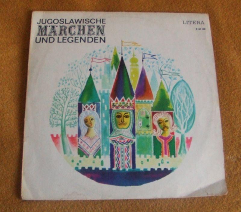LP - Jugoslawische Märchen und Legenden, Litera