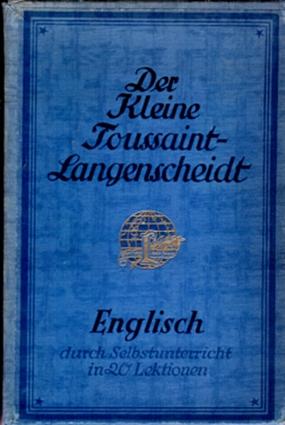 Der kleine Toussaint-Langenscheidt Englisch, 1926
