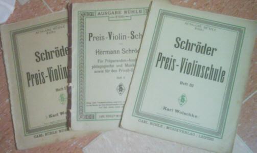 Preis - Violinschule 1 bis 3 - Hermann Schröder
