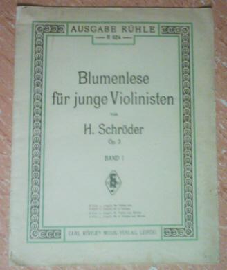 Blumenlese Band 1 - Hermann Schröder