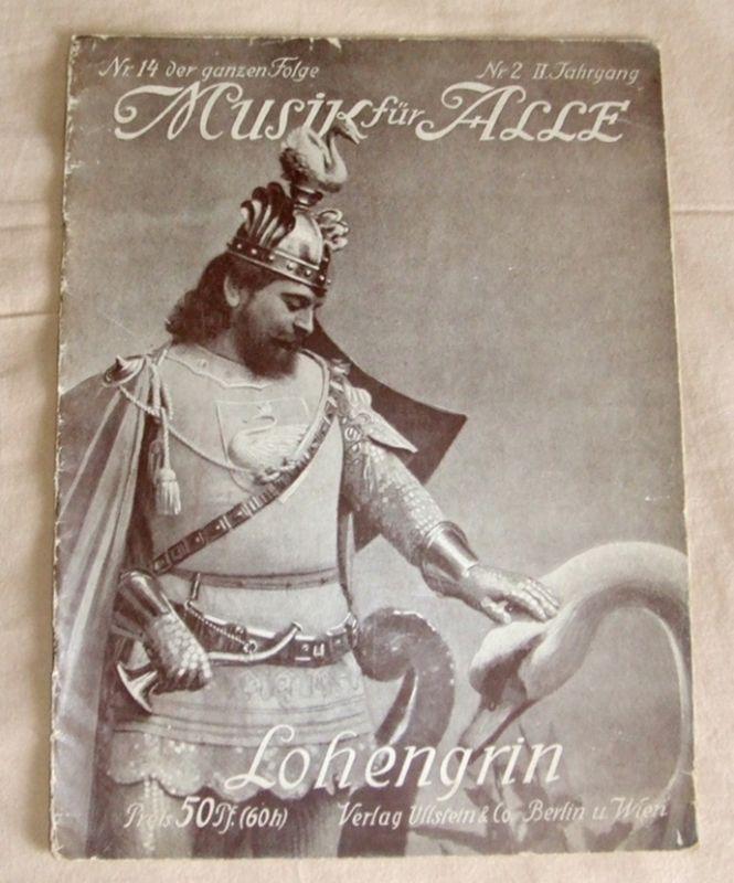 Lohengrin - Richard Wagner, Heft aus Musik für alle