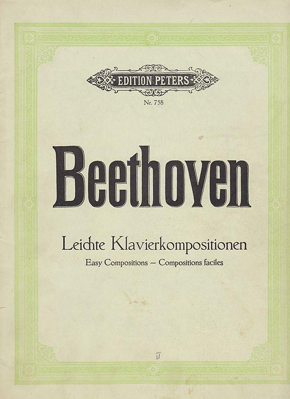 Beethoven Leichte Klavierkompositionen