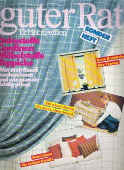Zeitschrift Guter Rat - Sonderheft Heimtextilien