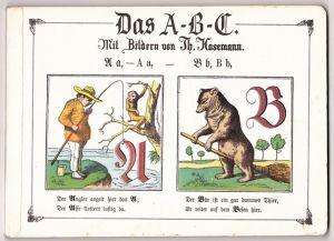 Das A-B-C. Mit Bildern von Th. Hosemann
