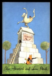 Der Akrobat auf dem Dach - Hilga Cwojdrak