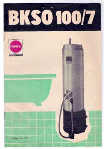 Kohlebadeofen BKSO 100/7, Monsator - Bedienungsanleitung
