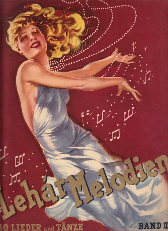 Lehar-Melodien Band II, gesetzt f. Klavier, 1938