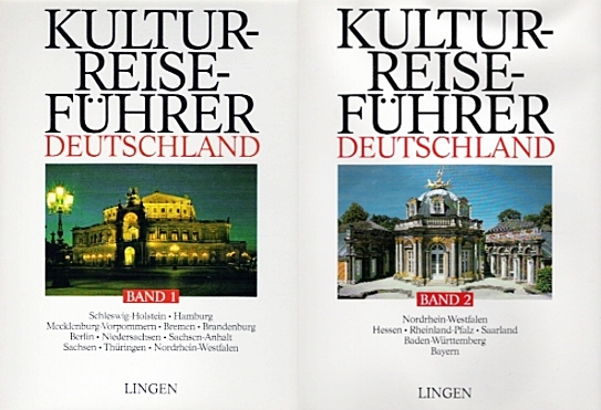 Kultur - Reiseführer Deutschland , 2 Bände