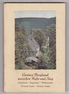 Grünes Bergland zwischen Ruhr und Sieg, 1935