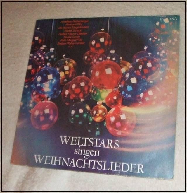 LP Weltstars singen Weihnachtslieder - ETERNA
