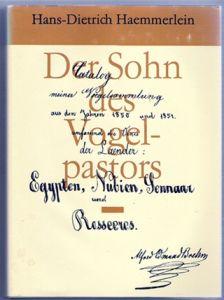 Der Sohn des Vogelpastors - Hans-Dietrich Haemmerlein