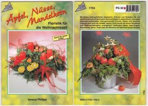 Äpfel, Nüsse, Mandelkern, Floristik für die Weihnachtszeit - Verena Philipp