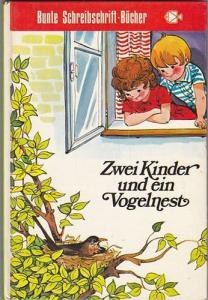 Zwei Kinder und ein Vogelnest - Marie Alpach